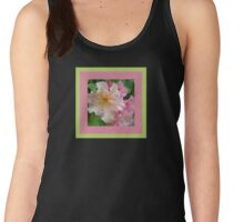 Ruffled Rhododendron Blossoms Women's Tank Top
