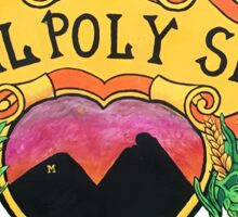 Cal Poly SLO Sticker