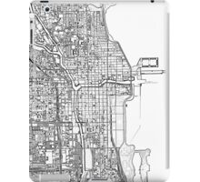 Chicago City center black and white iPad Case/Skin