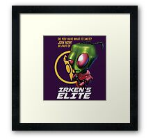 Invader Zim - Irken's Elite Framed Print