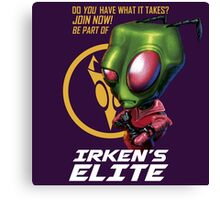 Invader Zim - Irken's Elite Canvas Print