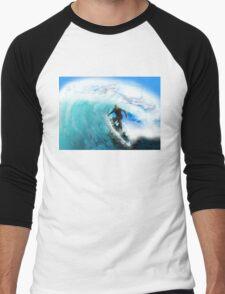 Surfing Men's Baseball ¾ T-Shirt