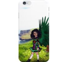 Little Irish Dancer Angel - Beginning the Dance iPhone Case/Skin