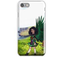 Little Irish Dancer Angel - Beginning the Dance iPhone Case/Skin