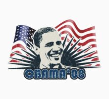 Obama Distressed Vintage Shirt Kids Clothes