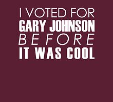 I Voted for Gary Johnson Before it Was Cool Classic T-Shirt