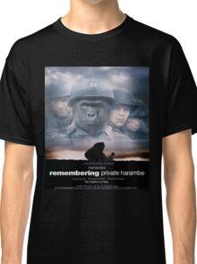 Saving Private Harambe  Classic T-Shirt