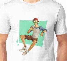 When you're ready to rock the beach, but you're in space Unisex T-Shirt