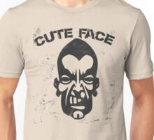 Cute Horrifying Face hahaha Unisex T-Shirt