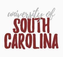 University of South Carolina Baby Tee