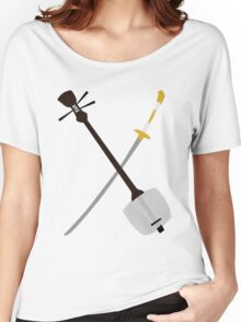 If You Must Blink, Do It Now. (Kubo and the Two Strings). Women's Relaxed Fit T-Shirt