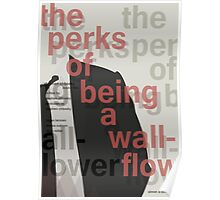 The Perks of Being a Wallflower - Print (Swiss Style) Poster