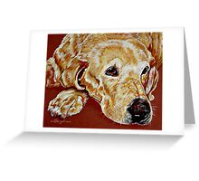 Watching Over Me Greeting Card