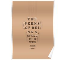 The Perks of Being a Wallflower - Print (Minimalism) Poster