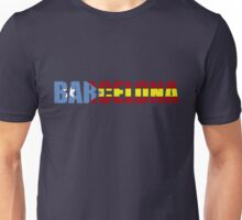 FC Barcelona Barca  Flag of Catalonia T-Shirts and Gifts  Unisex T-Shirt