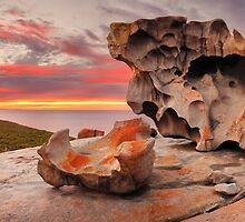 Remarkable Rocks Awakens, Kangaroo Island, South Australia by Michael Boniwell