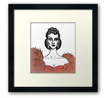 Vivien Leigh / Scarlett O'Hara Framed Print