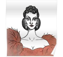 Vivien Leigh / Scarlett O'Hara Poster