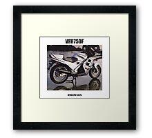 HONDA RC24 VFR750F TRIBUTE Framed Print