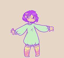 Pastel fairy kei anime girl Unisex T-Shirt