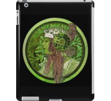 Nouveau Woman In Green Headdress and Jewels iPad Case/Skin