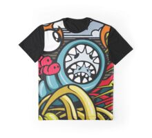 MONSTER COLLOR Graphic T-Shirt