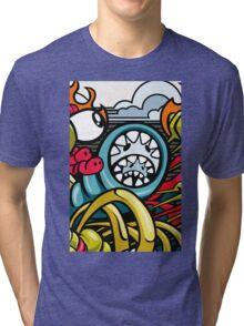 MONSTER COLLOR Tri-blend T-Shirt
