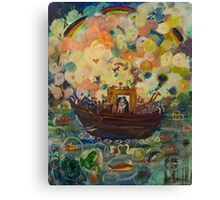 Noah's Ark Fine Art Design Canvas Print