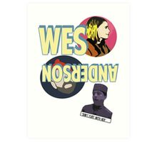 The Wes Anderson Art Print