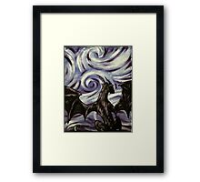 Dark Dragon Framed Print