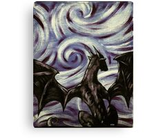 Dark Dragon Canvas Print
