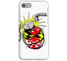 Maryland Flag Grenade iPhone Case/Skin