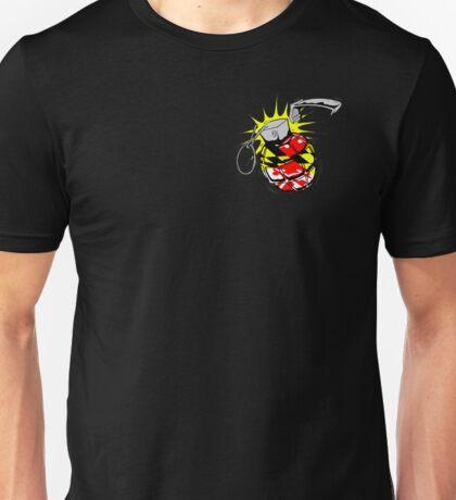Maryland Flag Grenade Unisex T-Shirt