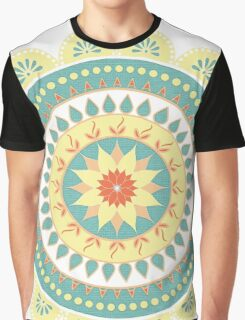 Mother Natures Mandala Graphic T-Shirt