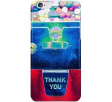 Whacked Out Color on Bubblegum Machine iPhone Case/Skin