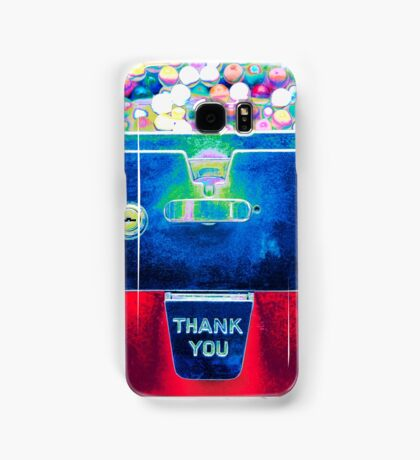 Whacked Out Color on Bubblegum Machine Samsung Galaxy Case/Skin
