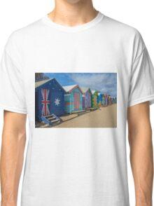 Brighton Huts - Melbourne Classic T-Shirt