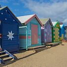 Brighton Huts - Melbourne by Paul Campbell  Photography