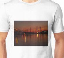 Old Bridge Sunset Unisex T-Shirt
