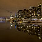 Docklands - Melbourne by Paul Campbell  Photography