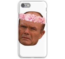 Red Forman flower crown iPhone Case/Skin