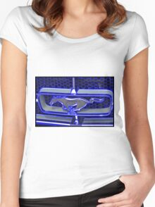 Blue Mustang Women's Fitted Scoop T-Shirt