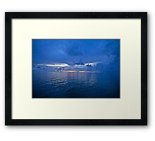 5 ★★★★★ . It's A Real Jewel 4 me ! Nightfall wonders  -  Baltic Sea. by Brown Sugar . 5 Star Excellence. Madame Valerie Anne Kelly ! Featured Inspired Art Group !  A belated thank you ! Framed Print