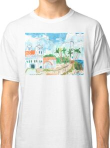 Lighthouse and Mosque, Galle Fort Classic T-Shirt