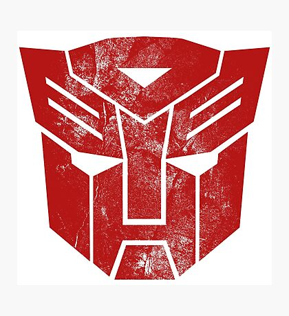 AutoBots Photographic Print