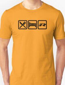 Eat / Sleep / R Unisex T-Shirt