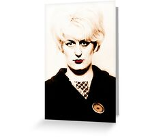 Myra Hindley, Moors Murderer Greeting Card