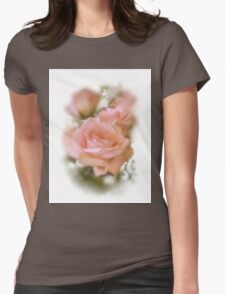 Love The Roses Womens Fitted T-Shirt