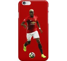 Paul Pogba - Manchester United iPhone Case/Skin