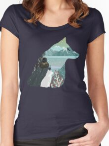 The King In The North Women's Fitted Scoop T-Shirt